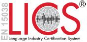 ISO 17100 Certified
